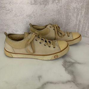 UGG Australia Evera Tan Suede Leather Sneakers 8.5